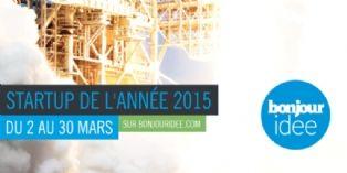 Concours de la Start-up de l'ann�e 2015 : le vote est ouvert