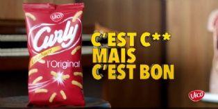 """Curly mise sur la social TV pour sa campagne """"C'est con mais c'est bon"""""""