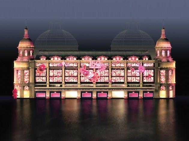 Des fleurs pour les 150 ans du printemps - Les terrasses du port magasins ...
