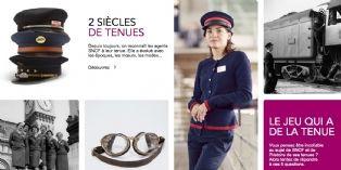 SNCF offre un d�fil� digital � ses uniformes