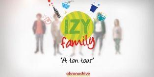 """Chronodrive lance la web-série """"IZY Family"""""""