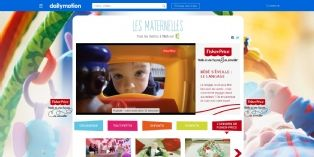 "Fisher-Price s'associe aux ""Maternelles"" sur Dailymotion"