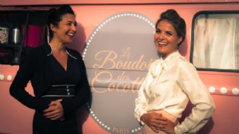 Ingrid Corny et Estelle Baron, cofondatrices du Boudoir des Cocottes