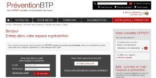 Un site pour prévenir les risques sur les chantiers