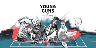 "[Marketing Sportif] Tecnifibre lance "" Young Guns On The Road """