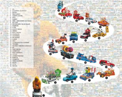 Les 35 partenaires (source : L'Eaufficiel, Vittel)