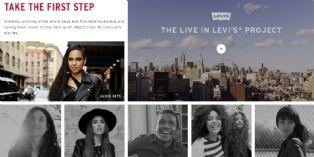 Levi's mise sur le brand content avec 5 artistes émergents