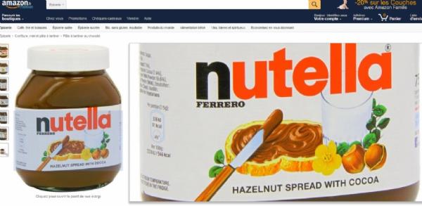 Le Nutella arrive du Royaume Uni