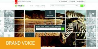 """"""" 90 % des visuels utilisés pour nos campagnes proviennent des banques d'images """""""