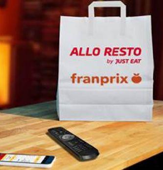 Franprix et Allo Resto livrent des repas en 45 minutes