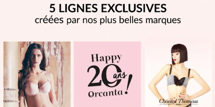 [#MarketingA20ans] Les dessous chics d'Orcanta fêtent leurs 20 printemps