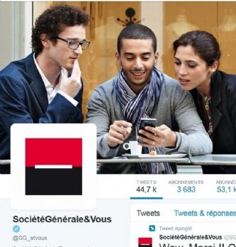 """Société Générale : """"Twitter est une brique à part entière de la relation client"""""""