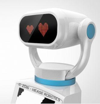 Robotique : Hease, le robot d'accueil du retail