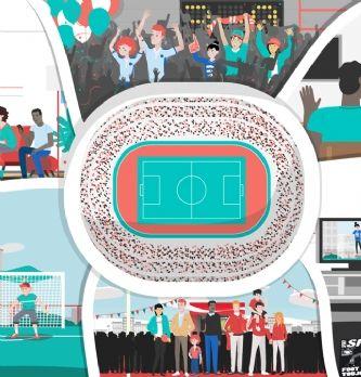 [Étude] Les lieux de prédilection pour vivre l'Euro 2016
