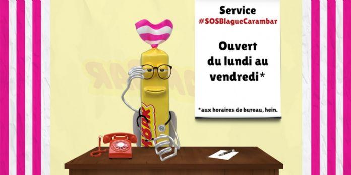 """Carambar lance le """"Service de la Blague"""" sur Twitter"""