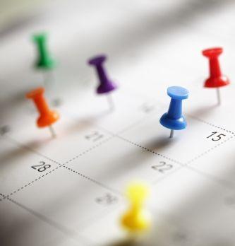 L'agenda des acheteurs en janvier/février 2017