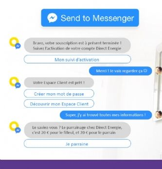 [Exclu] Direct Energie lance son chatbot