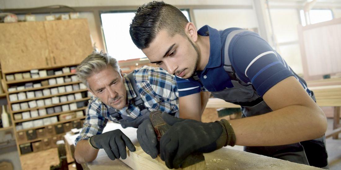 L'artisanat du bâtiment, un secteur qui tire les jeunes vers le haut