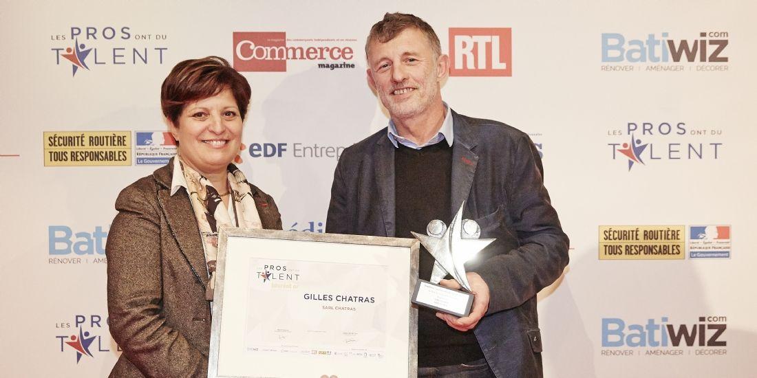 Les Pros ont du talent 2017: Gilles Chatras remporte le premier prix pour sa politique de prévention de risque routier