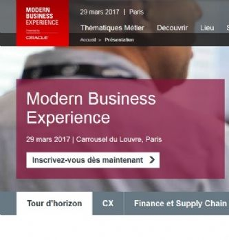 "Oracle lance le ""Modern Business Experience"" en France"