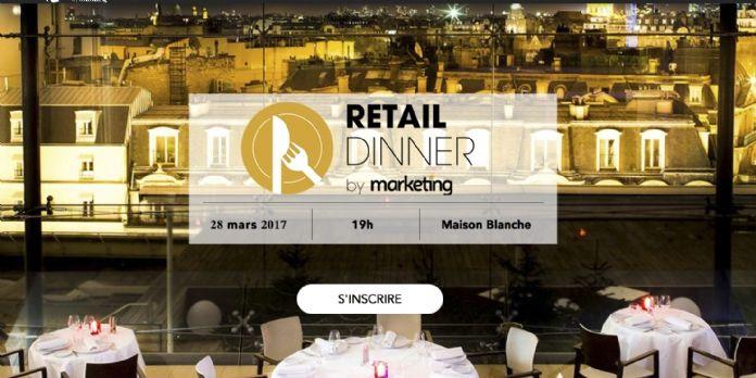 Le Retail Dinner rassemble les marketeurs