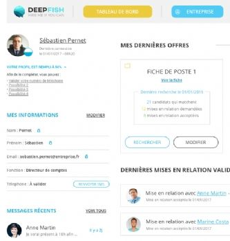 Recrutement : Deepfish, l'appli où trouver vos futurs commerciaux IT