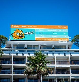 [Cannes Lions] Clear Channel fait de Cannes son terrain de jeu