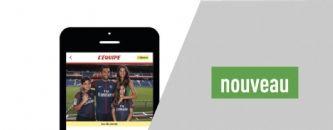 Un nouveau site mobile pour L'Équipe