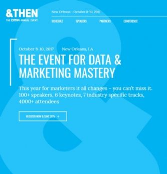 &Then, l'événement phare du data driven marketing