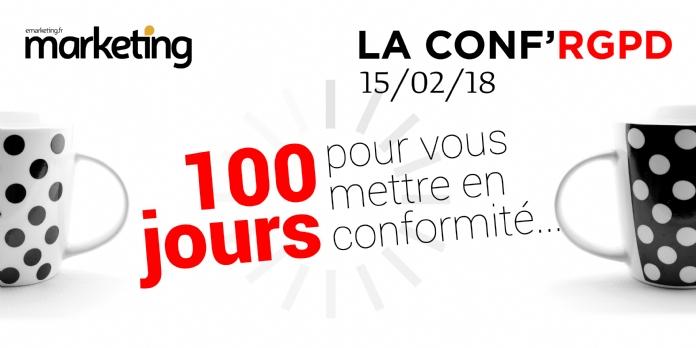 RGPD: 100 jours pour vous mettre en conformité