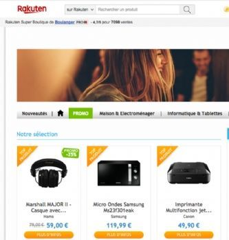 Rakuten France développe le click and collect en magasin