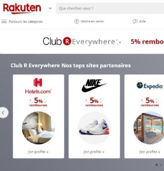 """Rakuten France lance son Club """"R Everywhere"""" à destination des e-commerçants"""