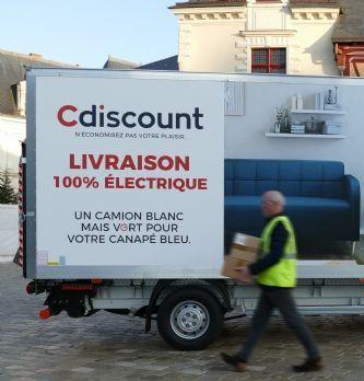 Cdiscount propose une livraison verte à Paris et Bordeaux