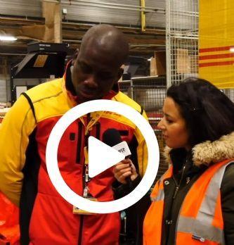 Logistique : dans les coulisses de DHL avant Noël