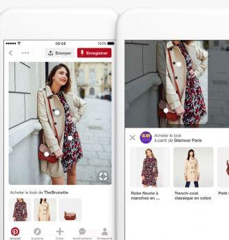 """Pinterest déploie la fonctionnalité """"Shop the Look"""" en France"""