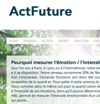 Avec HNL Expert, Actfuture mesure l'impact émotionnel de vos actions marketing