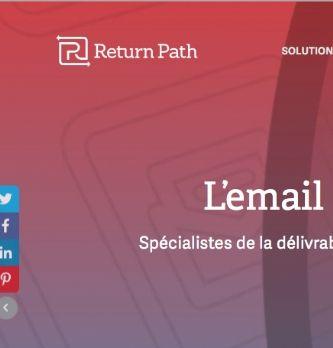 Les emails provenant d'expéditeurs réputés ont 23% de chances supplémentaires d'atteindre leur destinataire