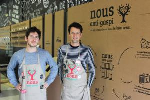 Charles Lottmann et Vincent Justin, cofondateurs de Nous