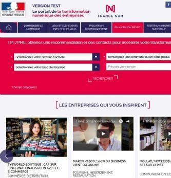 """France Num, un outil pour accompagner les entreprises dans leur <span class=""""highlight"""">transformation</span> <span class=""""highlight"""">digitale</span>"""