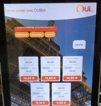 OUI.sncf lance une campagne pilotée nourrit à l'intelligence artificielle