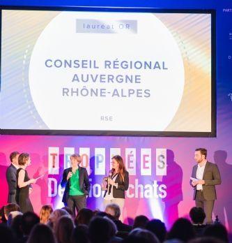 """Trophées Décision Achats / CNA 2019: Le Conseil régional Auvergne-Rhône-Alpes remporte la catégorie """"RSE"""""""