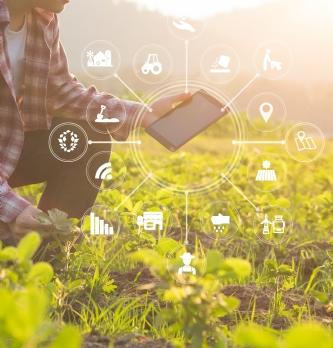 """Un partenariat pour soutenir la <span class=""""highlight"""">transformation</span> <span class=""""highlight"""">digitale</span> des entreprises de l'agro-alimentaire"""
