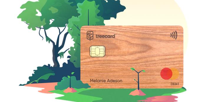 Treecard : la carte bancaire en bois éco-responsable