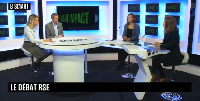 Smart Impact 8 octobre : MEDEF, alimentation responsable, Heex Technologies
