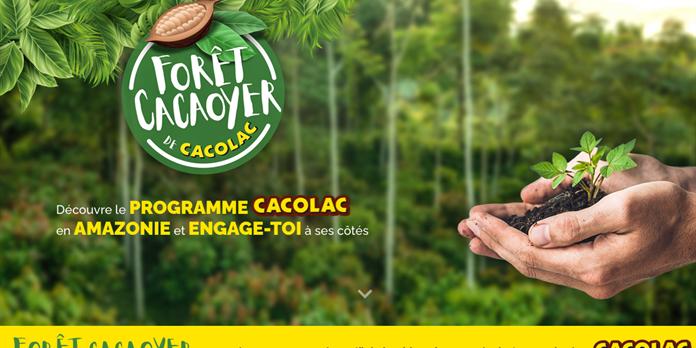 Cacolac se mobilise pour l'Amazonie avec Reforest'Action