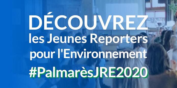 Jeunes Reporters pour l'Environnement : les lauréats 2020