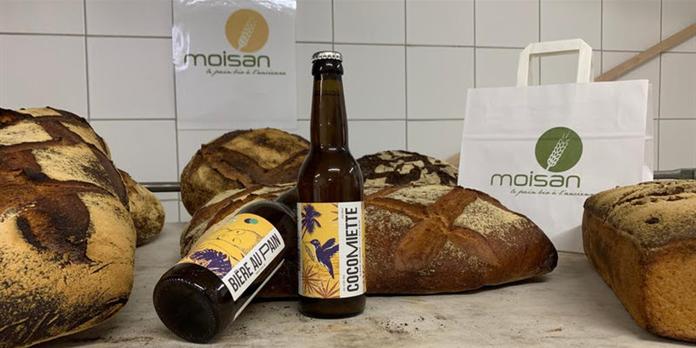 Une bière éco-responsable élaborée à partir d'invendus de pain bio