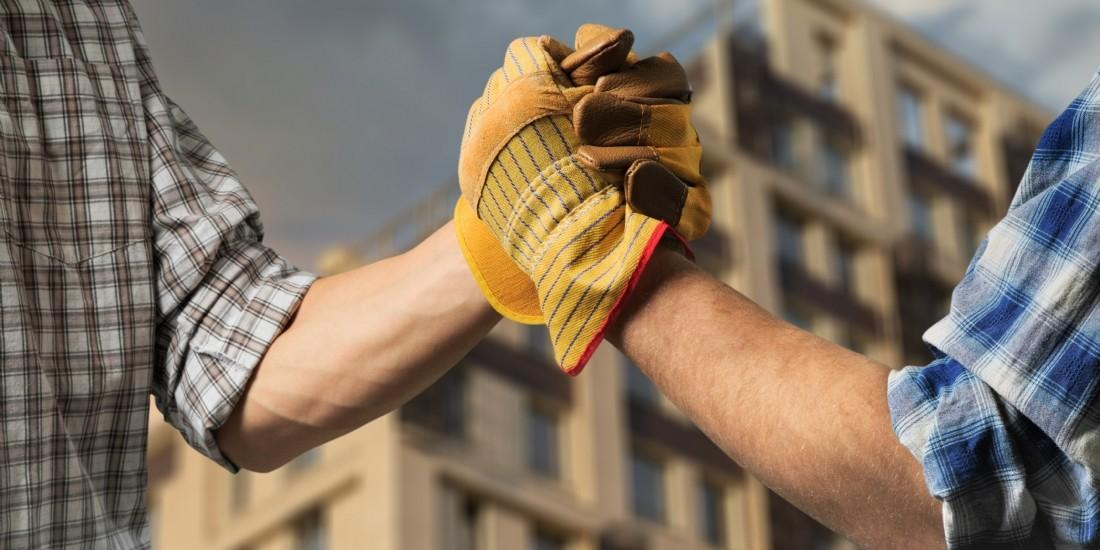 Artisanat du bâtiment : une activité en recul de 9% en 2020