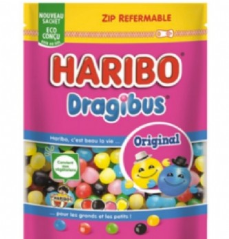 Haribo innove avec un emballage éco-conçu