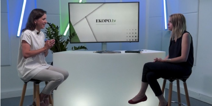 [EKOPO TV] 'Toutes les entreprises peuvent être contributives' Céline Puff-Ardichvili, cofondatrice de Look Sharp